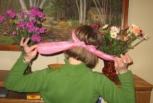 back view of headache wrap