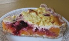 Sweet Potato Cranberry Quiche