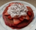 Beet Pancakes with Strawberries, Yogurt, and Chia Seeds